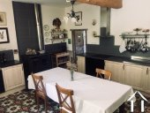 Charming 4/5 bedroom guest house (250m2) with two gites, art gallery/studio, 3 large garages, cellar Ref # MPPop0076 image 4