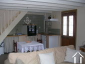 Charming 4/5 bedroom guest house (250m2) with two gites, art gallery/studio, 3 large garages, cellar Ref # MPPop0076 image 9
