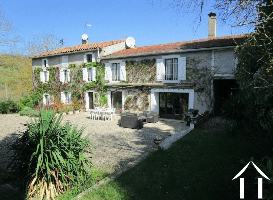 18th Century country house with fabulous views Ref # MPOP0017