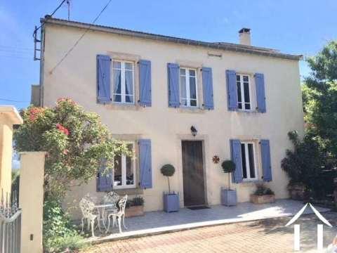 Traditional Maison de Maitre with separate gîte Ref # MPOP0028