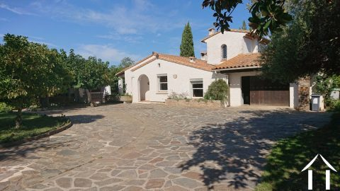 Fabulous 5 bedroom French villa with pool, garage and matured gardens Ref # MPOP0083